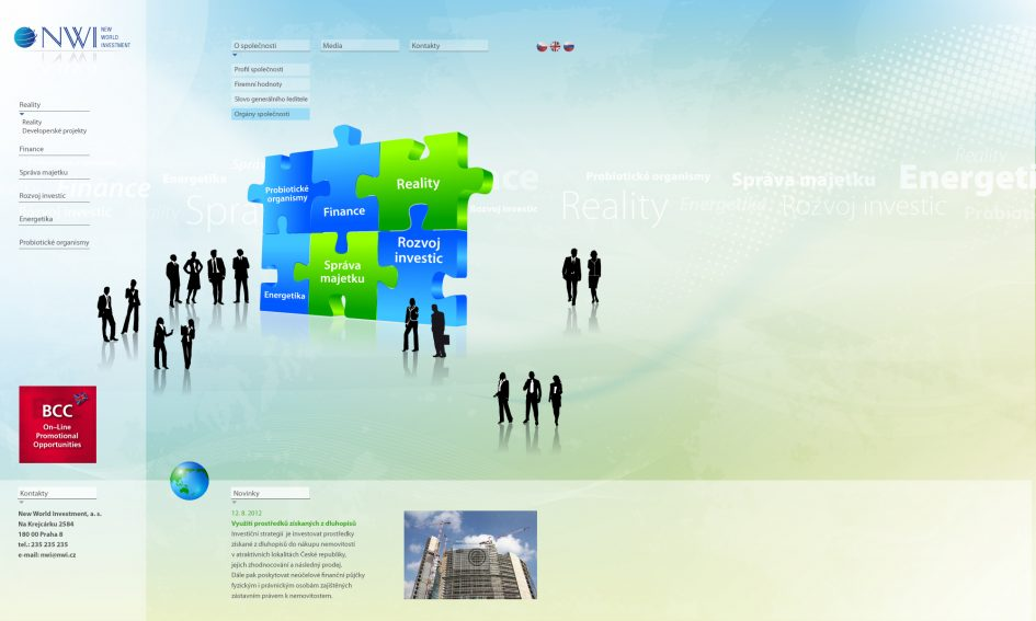 NWR - web site design