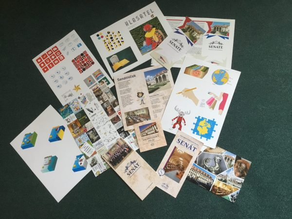 Collection of print works
